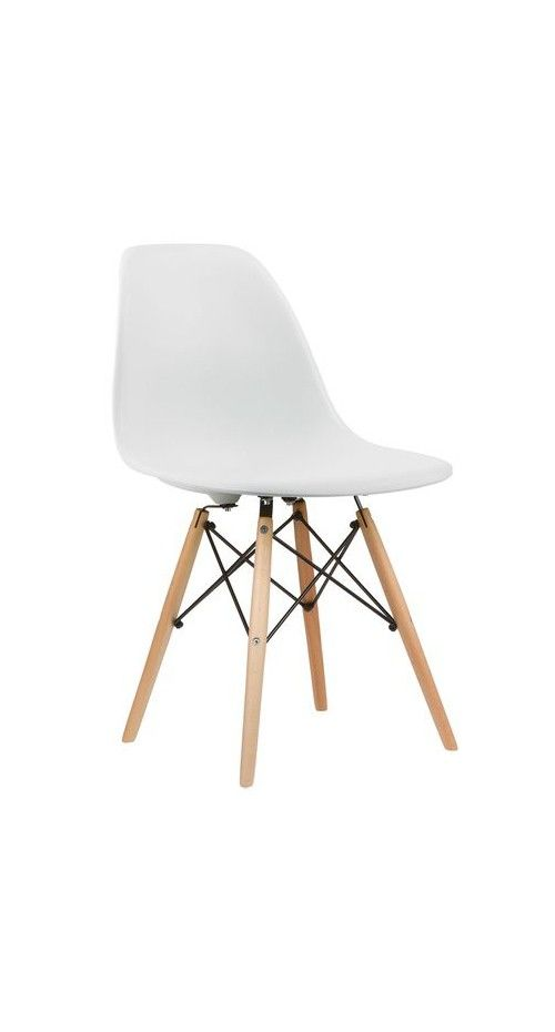 Eevrybody is buying the shell chairs and putting these bases on them.