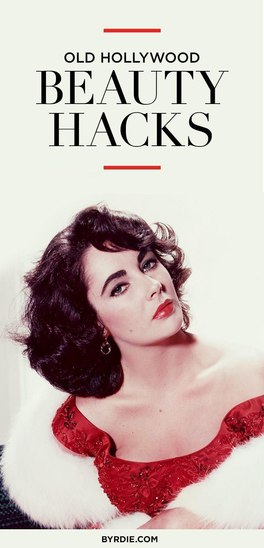 Die besten Old Hollywood Beauty Hacks