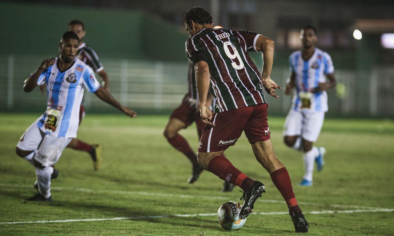 Fluminense Avanca E Vasco E Eliminado Da Taca Rio Fluminense Taca Rio Parana Clube