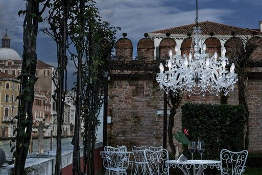 newest 90d3e 8d259 Outdoor crystal chandelier = stunning !!! | OUTDOOR LIVING ...