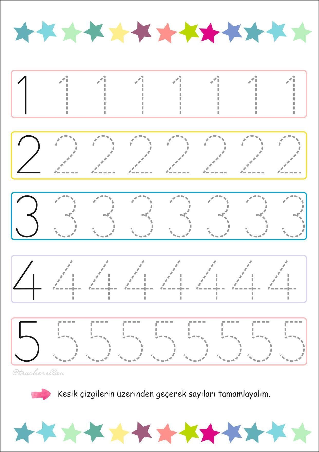 29 Number 2 Tracing Worksheets For Kids