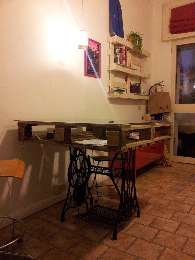 palettenmöbel bauen tisch wandregal zeitschriften Pallet meubels - wohnzimmertisch aus paletten