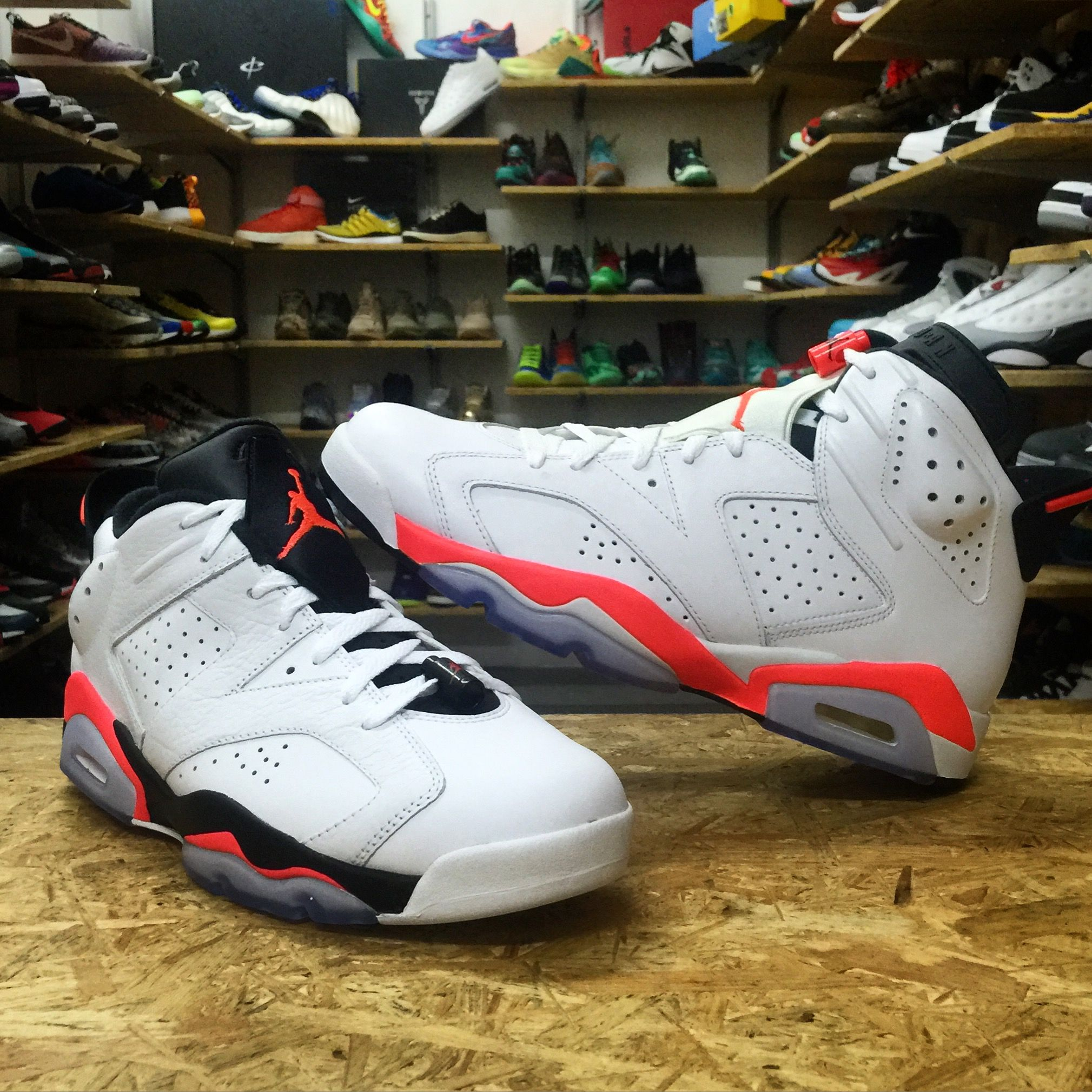 a457367d536 Which one would be your choice Both of the Air Jordan 6 are ...