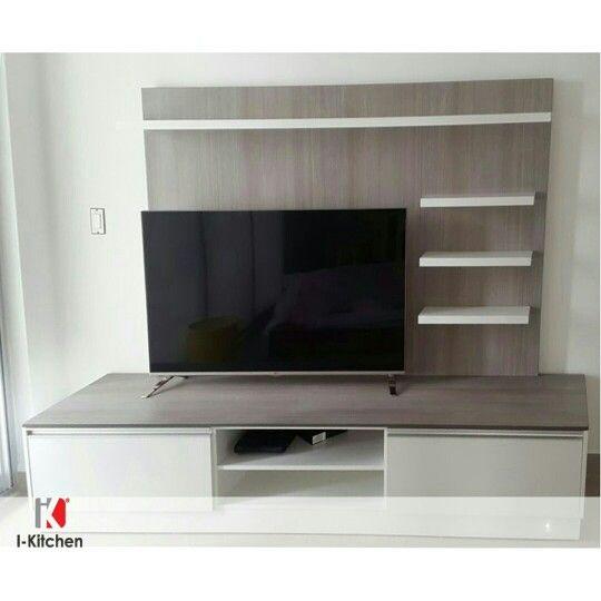 Moderno Mueble para Tv u2026 MUEBLES Pinterest
