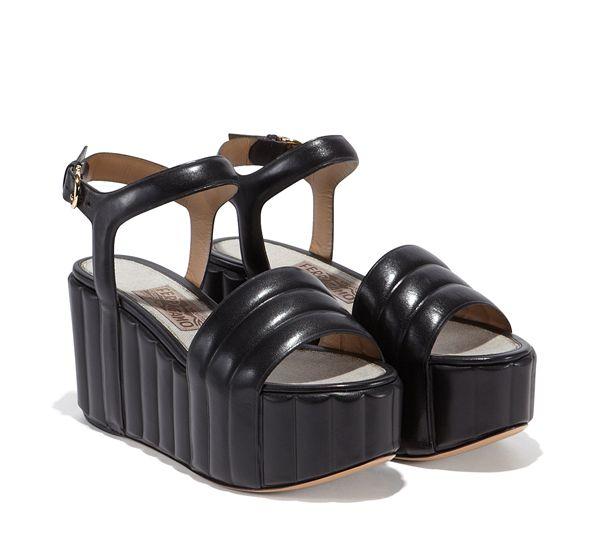 8580aae17c15 Platform Wedge Sandal - Shoes - Women - Salvatore Ferragamo