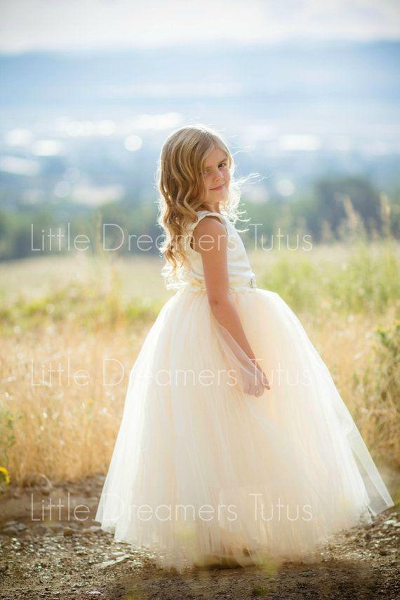 e463eaa91e NEW The Juliet Dress in Ivory Light Gold with by littledreamersinc Girls  Tutu Dresses