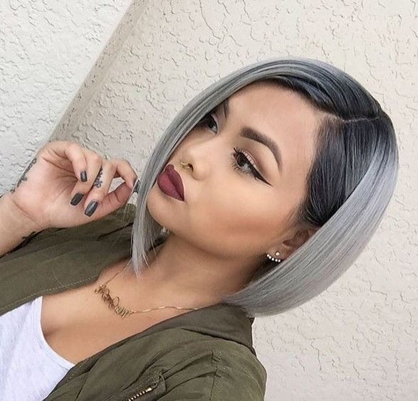 20 Trendy Gray Hairstyles Gray Hair Trend Balayage Hair Designs Hairstyles Weekly Gorgeous Gray Hair Hair Styles Short Grey Hair
