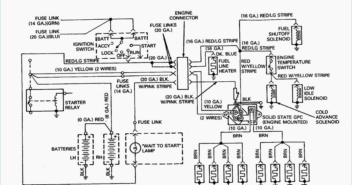 7 3 Idi Glow Plug Relay Wiring Diagram Archives Kobecityinfo Best Wiring Diagram Polaris E Bike For Controller Ele Trailer Wiring Diagram Engine Tune Diagram