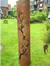 Feuers ule feuertonne terassenofen waldgespinnst for Gartengestaltung jordan