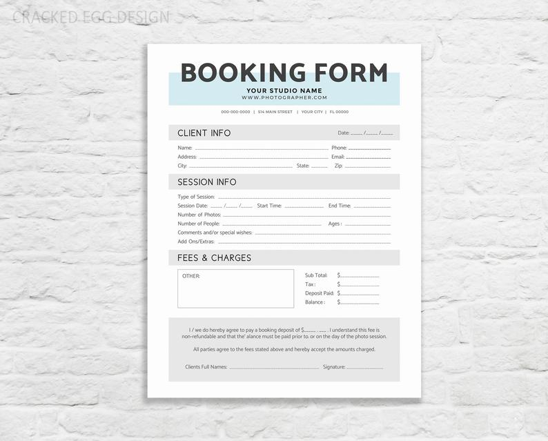 Photographer Contract Booking Form Wedding Photographer Etsy In 2021 Photographers Contract Photography Invoice Invoice Template