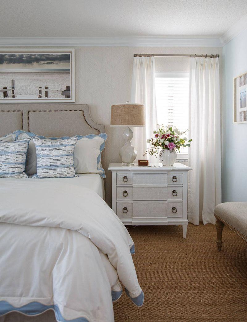 Amanda Webster Design  Beach house bedroom, Beach bedroom