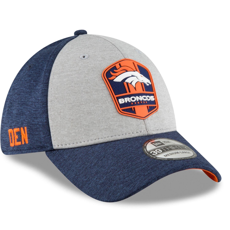 de742610dd4 Adult New Era Denver Broncos Sideline Team 39THIRTY Flex-Fit Cap  Broncos