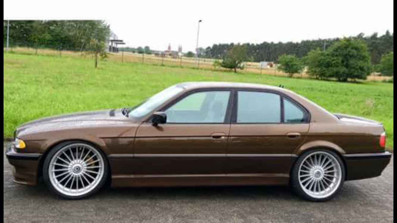 BMW E Marakeschbraunmetallic From The Bmw X Alpina BMW E - Bmw alpina e38
