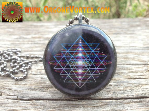 OUR SHOP FAVORITE!!!! Hand Made with LOVE by LifeLine Design. This powerful little pendant protects you from harmful EMF frequencies, while balancing the chakras and harmonizing your energy field providing a grounded, clear thinking, positive energy space around you at all times. Also utilizing the powers of sacred geometry, these pendants create a fractal field in your heart space creating an aura of Love, Compassion, Balance, and Peace both within you and radiating to those surrounding…
