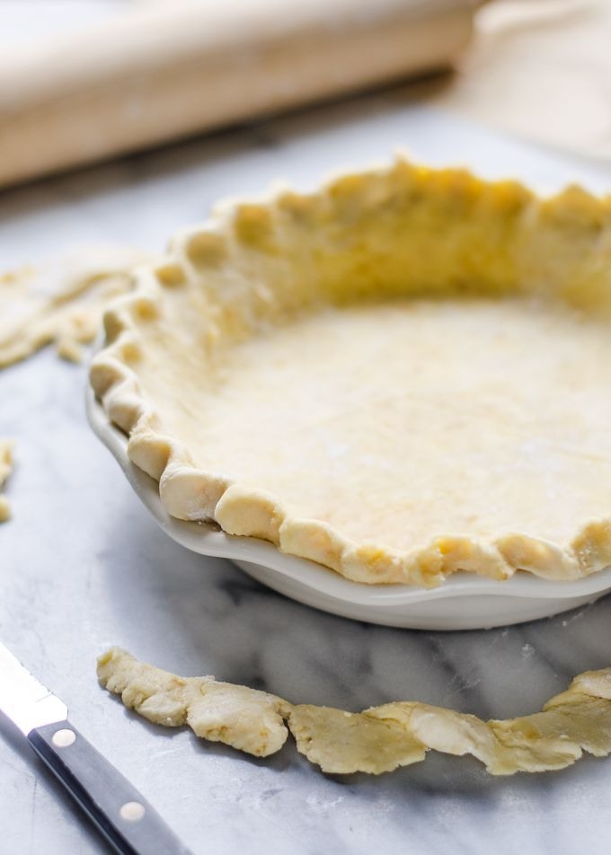 Sourdough Pie Crust - Healthy Thanksgiving Recipe | Buttered Side Up