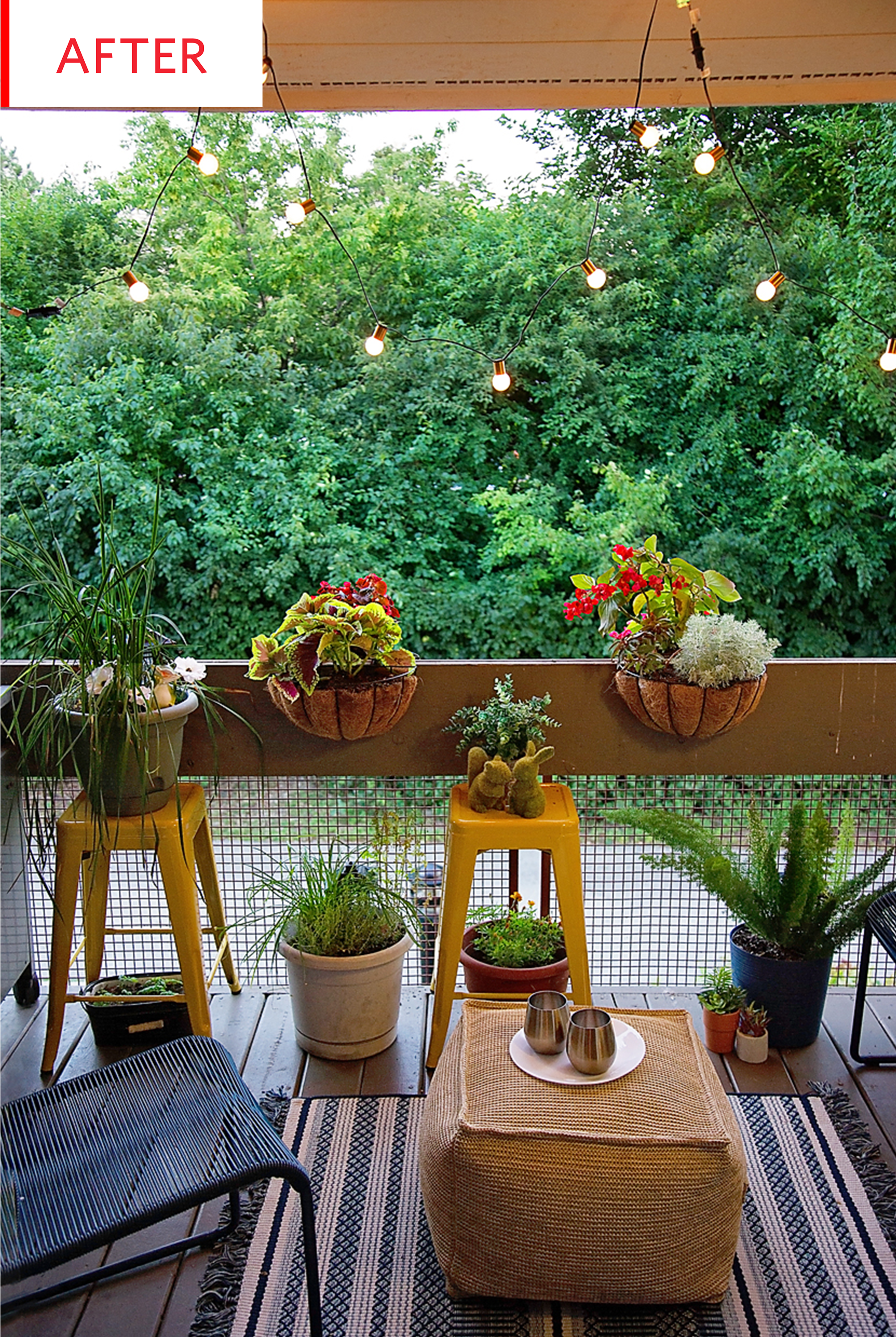 Balcony Garden Apartment Ikea