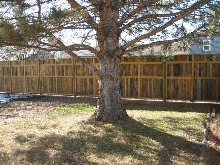 Privacy Fences Made Out Of Pallets Found On Palletfence Com