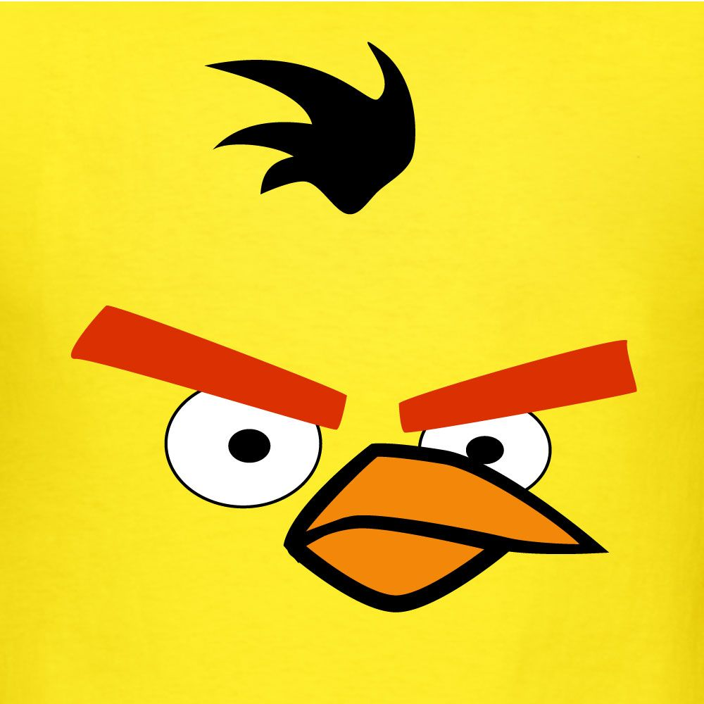 Yellow Angry Bird Face Google Search Angry Birds Yellow