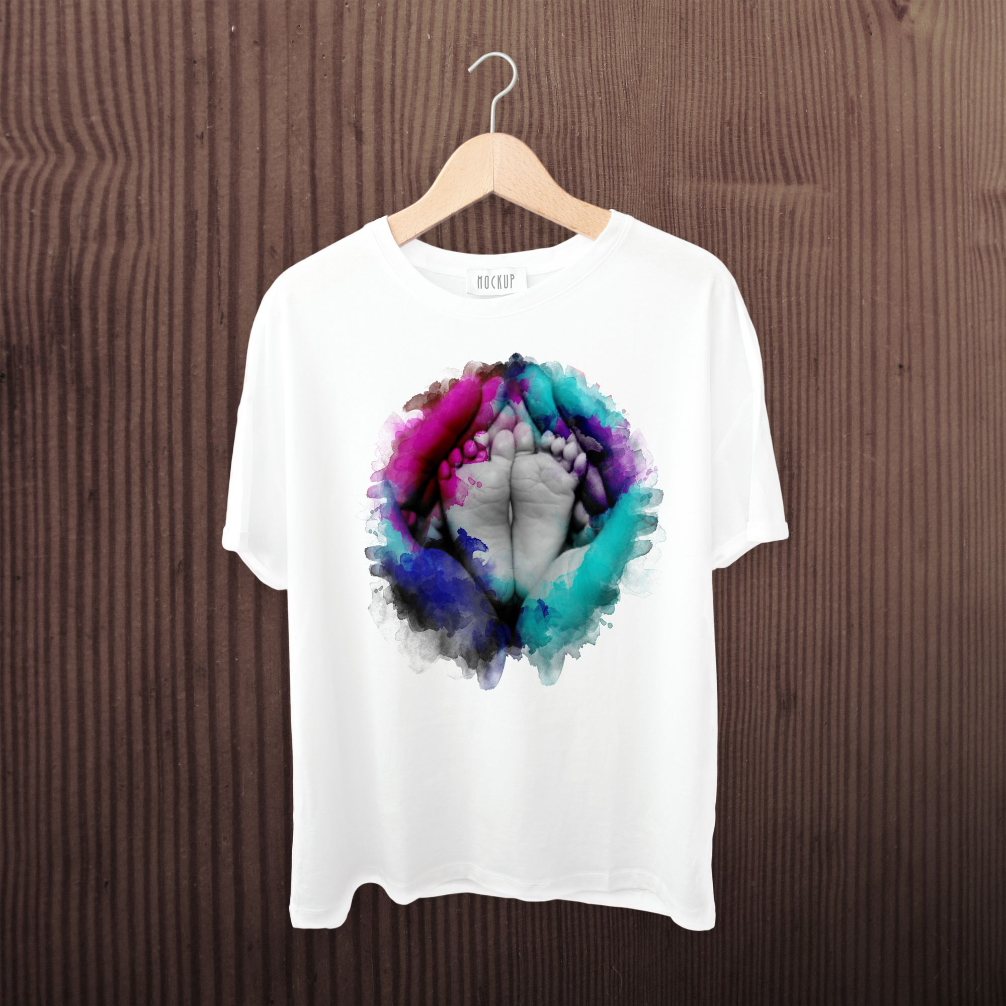 Tshirt Watercolor Design Trendy Merchendise Teespring Amazon