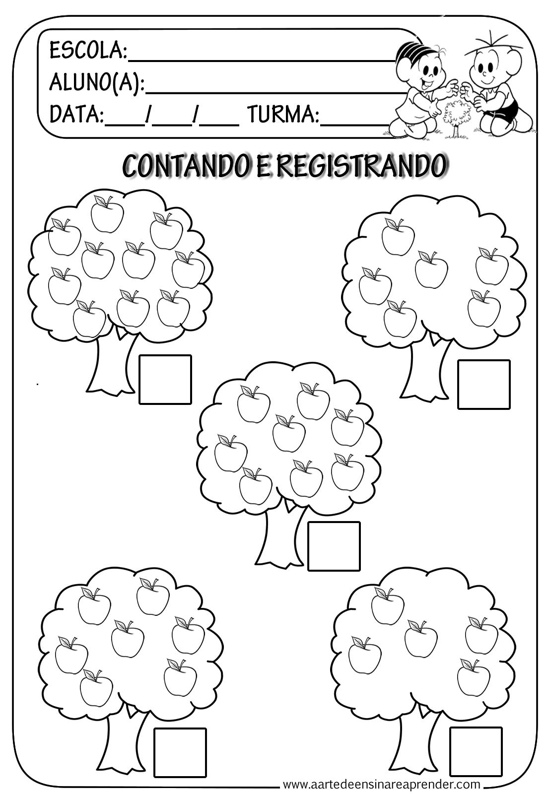 CONTANDO+E+REGISTRANDO.png (1108×1600) | Jardín De Infantes ...