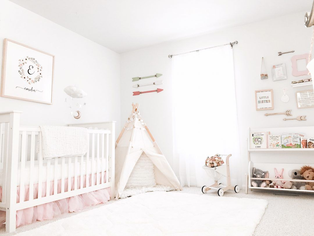 Boho Chic Stars Moon Nursery Reveal With Rugs USAu0027s Doux Super Soft Luxury  Shag With Carved