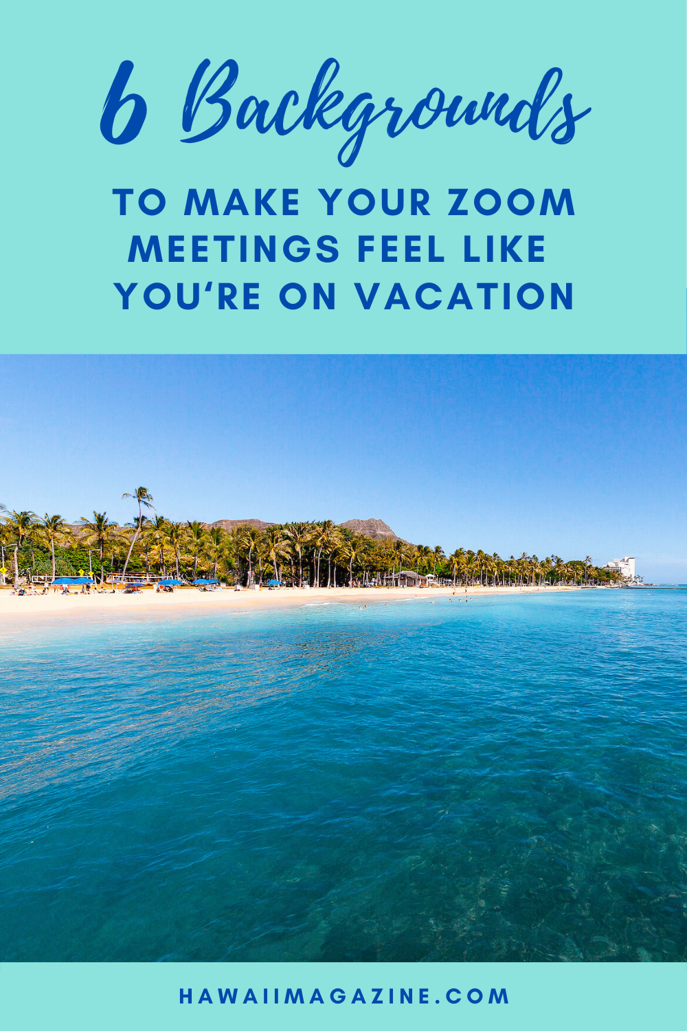 These Hawaiʻi Zoom Backgrounds Will Make You Feel Like You Re Working On Vacation Hawaii Magazine How Are You Feeling Vacation