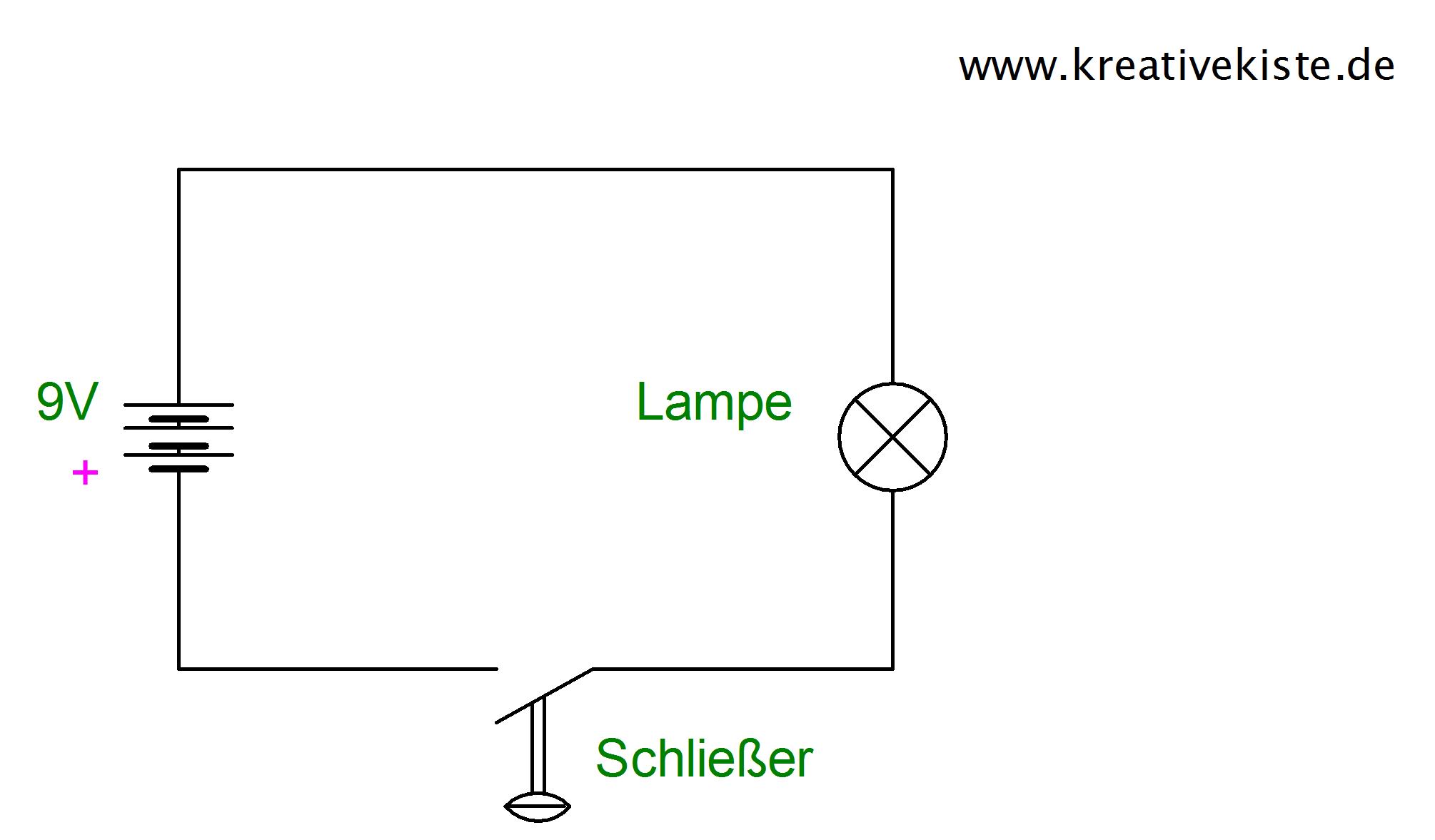 2 Einfacher Stromkreis Schalter Kinder Elektroniken Elektronische Schaltplane Elektronische Schaltung