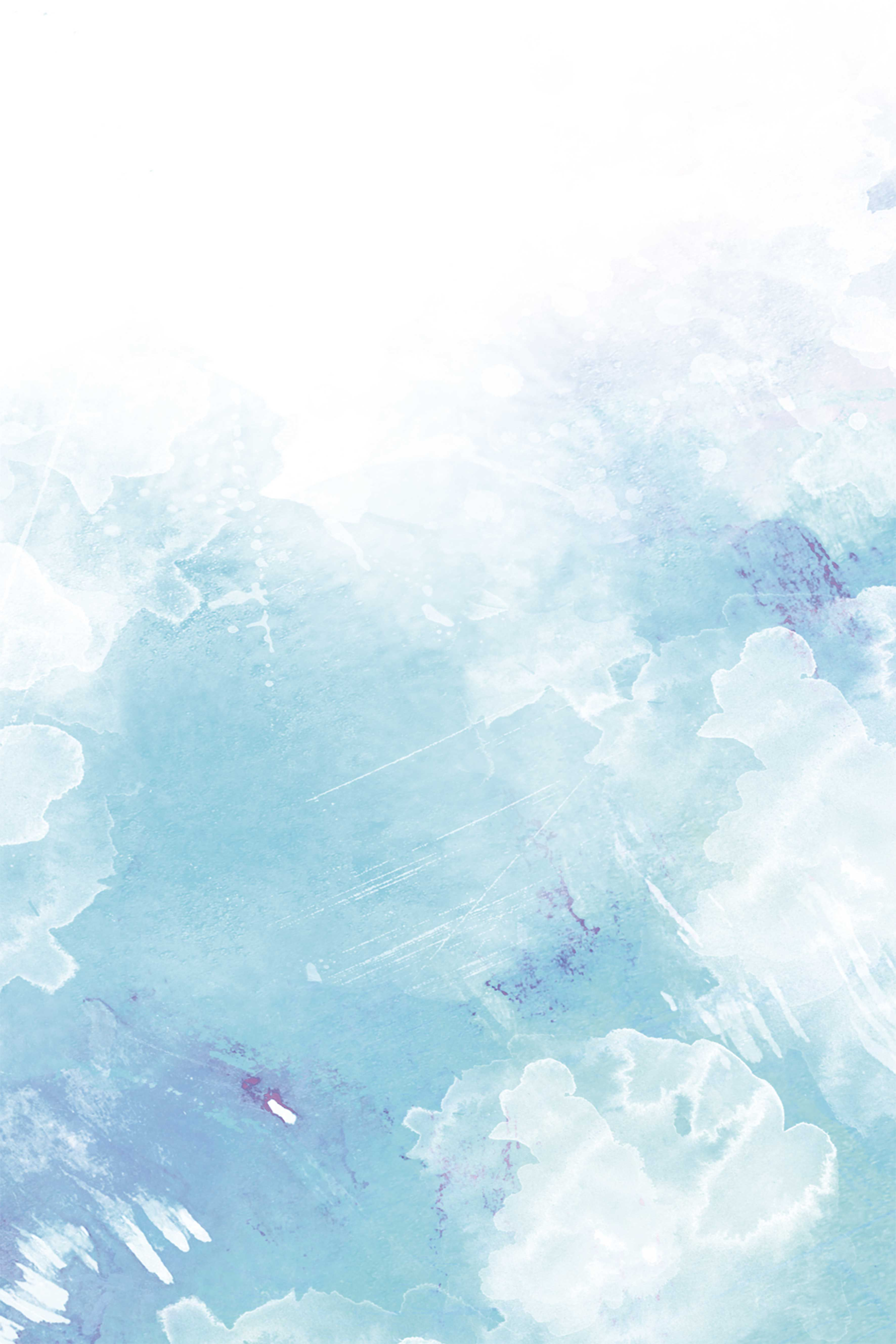 Simple Blue Background Watercolor Background Pastel Background Ipad Wallpaper Watercolor
