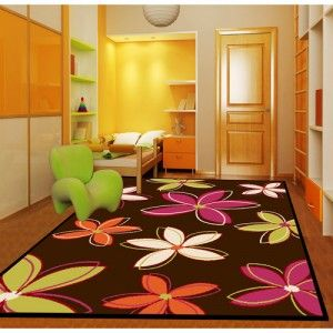 Dorm Room Vibrant Area Rug