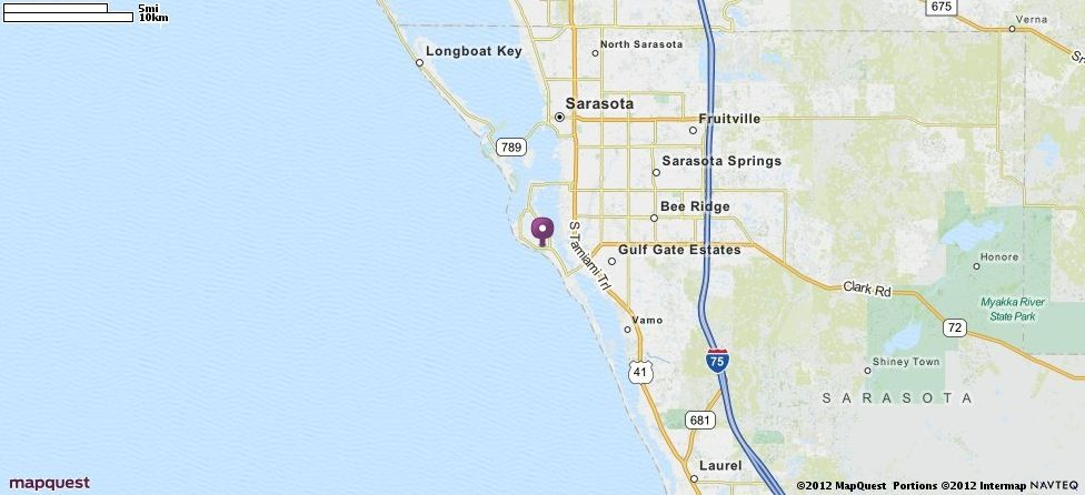 Siesta Key Florida Map.Siesta Key Fl Map Mapquest Siesta Key Fl Pinterest Siesta