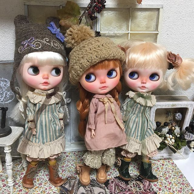 #Blythe #customBrythe #ooakBrythe #doll #dollstagram…