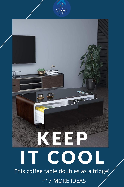 Smart Home Furniture 17 Ultra Modern Ideas For 2021 Sofas Chairs Tables Smart Furniture Smart Home Living Room Blinds [ 1500 x 1000 Pixel ]