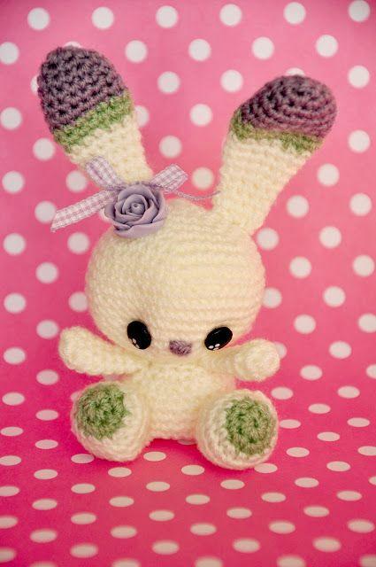crochet amigurumi free pattern bunny rabbit | crafts | Pinterest ...