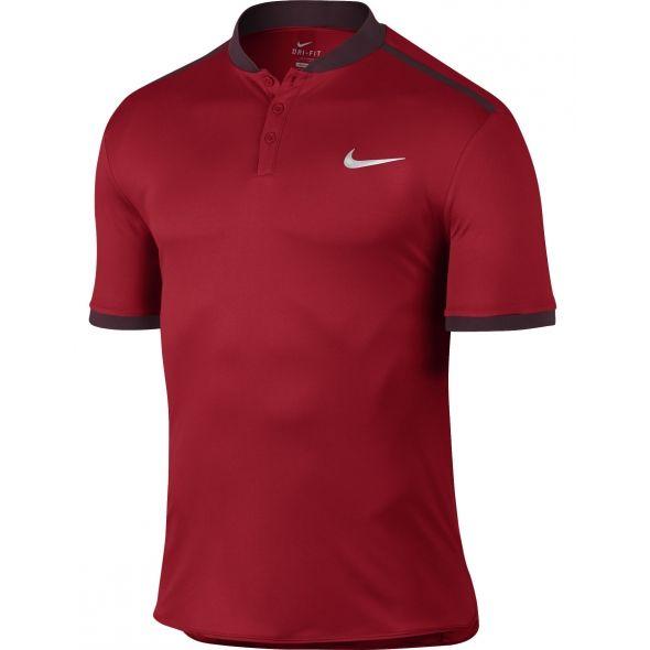 Polo Nike Advantage Solid Dimitrov Monte Carlo Rouge