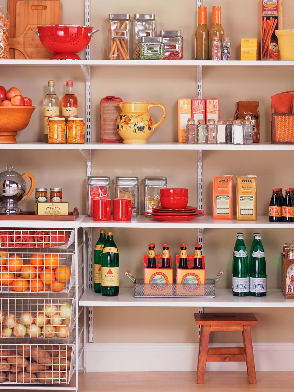 Storage In The Kitchen Pantry