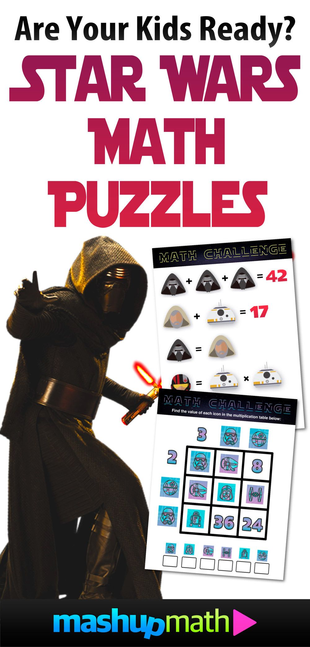 Star Wars Math Worksheets Maths Puzzles Math Challenge Math
