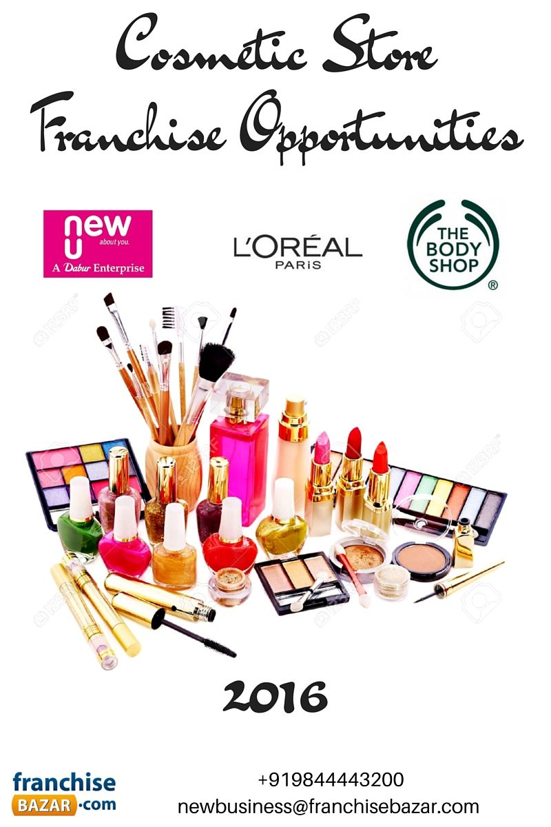 Handsome Cosmetic Store Franchise Opportunities