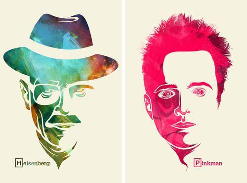 Heizenberg & Pinkman Breaking Bad
