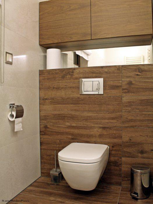 Płytki Imitujące Drewno W łazience Lazienka Wnętrze