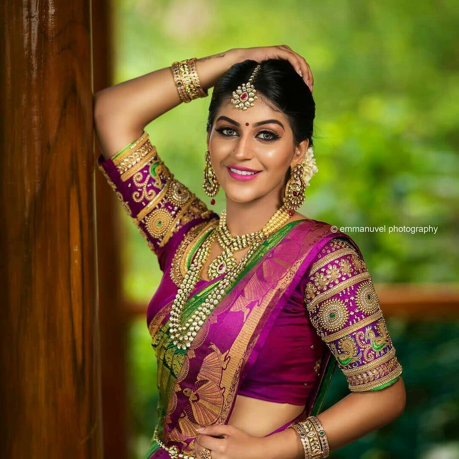Photo of 50+ Pattu Saree Blouse Designs To Rock Your Desi Bridal Look