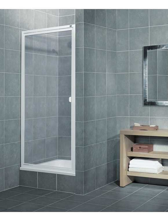 Aquaform Nischentur Elba Duschtur Mit Verstellbereich Von 87 89 Cm Duschtur Dusche Nischentur