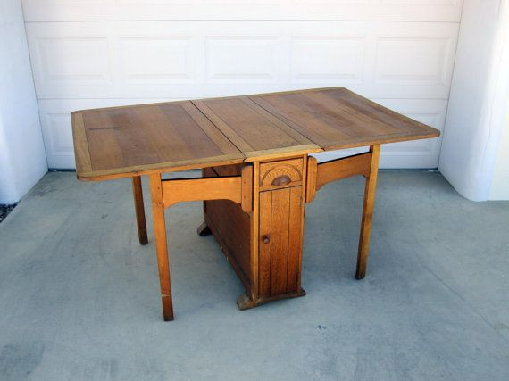 Love This Drop Leaf Table  Dreams Of A Sleepy Little Bungalow Classy Dining Room Tables With Leaves Review