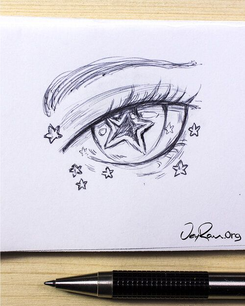 Anime Eye Drawing Tutorial — JeyRam Art