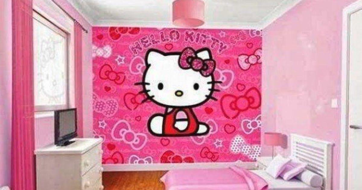 Wow 12 Wallpaper Dinding Kamar Sederhana Kumpulan 18 Wallpaper Dinding Kamar Hello Kitty Yang Desain Kamar Keroppi S Di 2020 Hello Kitty Dinding Pembuatan Perhiasan