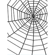 Darice® Embossing Folder: Spider Web, 4.25 x 5.75 inches