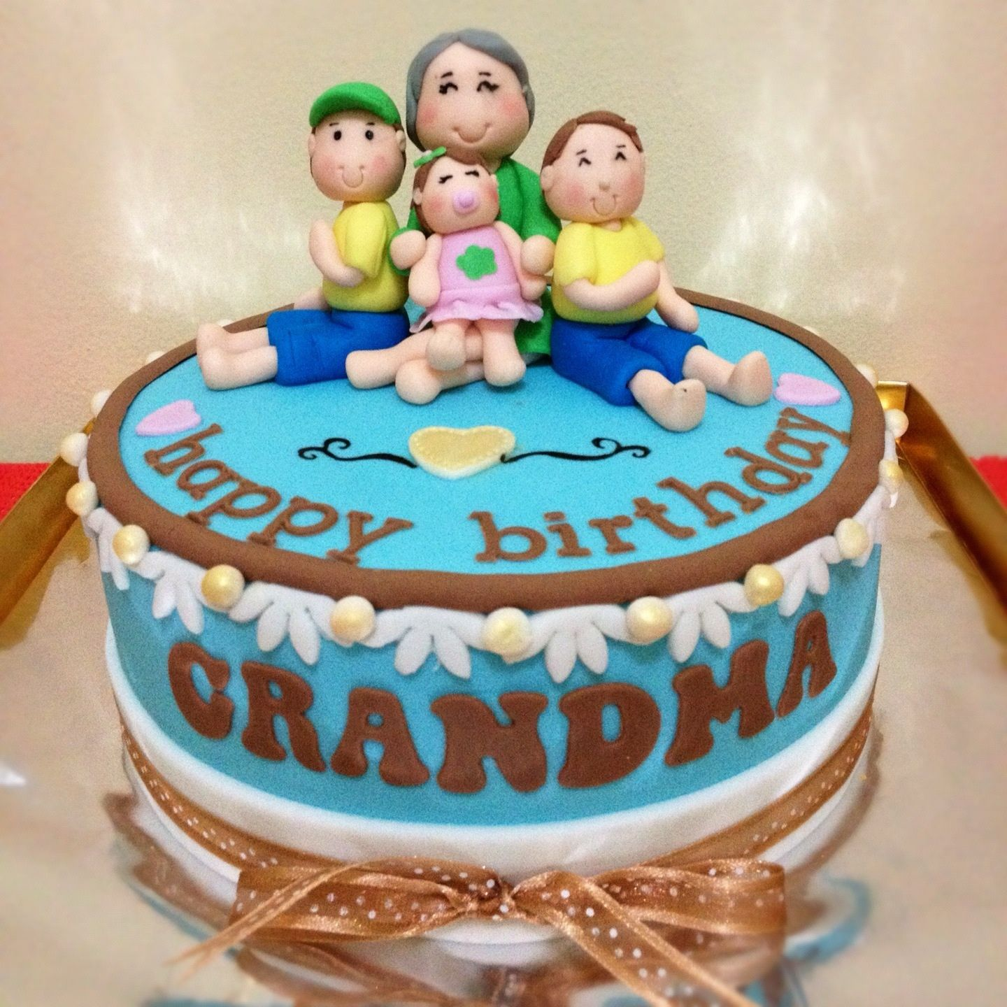 Birthday Cake Images For Grandfather : birthday cake for grandma Cupcake, Snowball and Cakes
