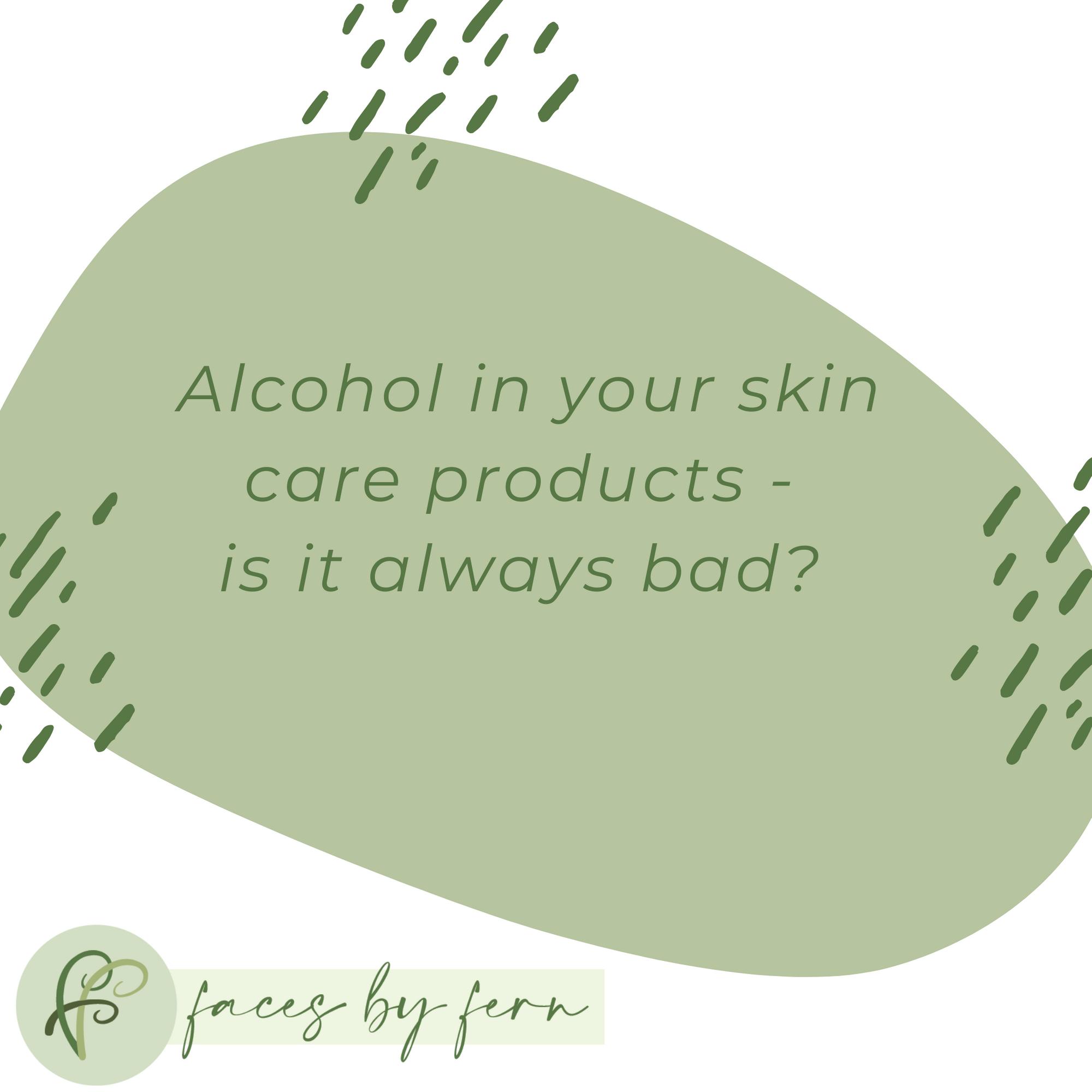 Alcohol In Skin Care In 2020 Skin Care Rough Skin Skin