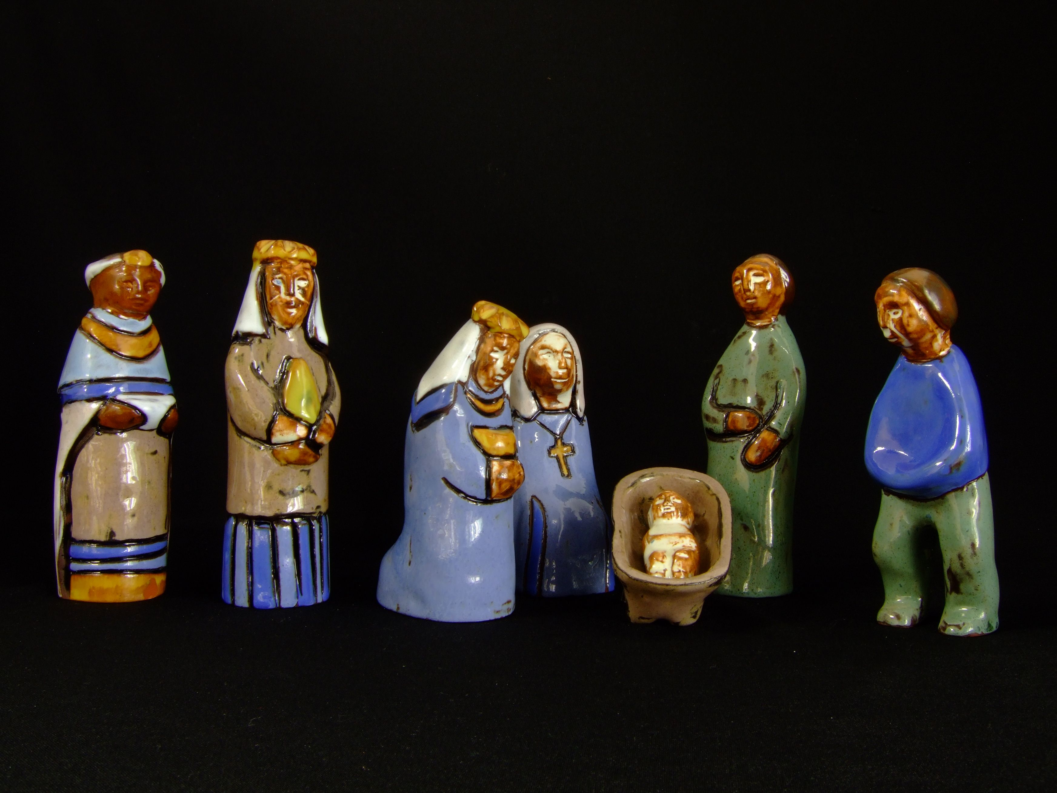 Creches From Hungary Nativity Scenes From Around The World - Hipster nativity set reimagines the birth of jesus in 2016