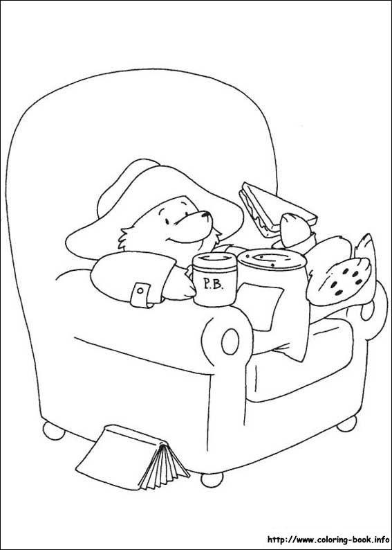 Paddington Bear coloring picture | IL·LUSTRACIONS | Pinterest ...