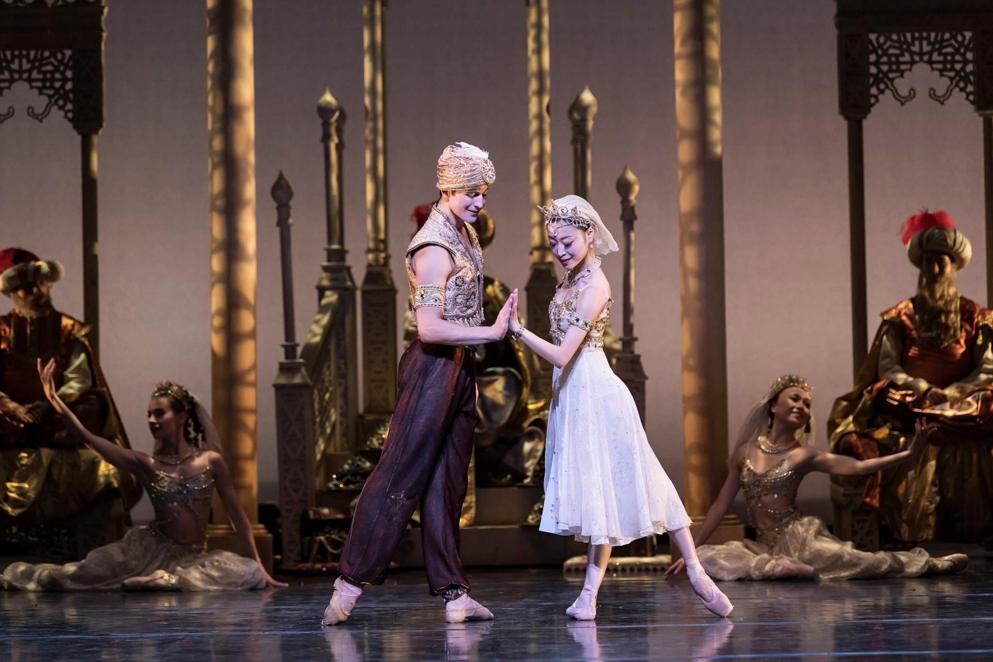 Birmingham royal ballet in ualaddinu photos by bill cooper